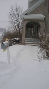 Winter in Maine, snow, humor, Modern Philosopher