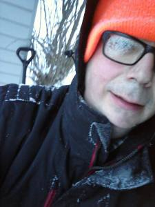 surviving winter in Maine, photography, Snow Miser, humor, Modern Philosopher