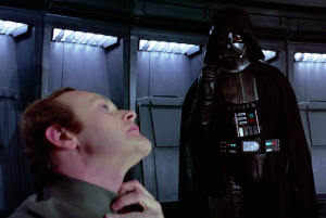 Darth Vader, Star Wars, The Force Choke, Human Resources, Sensitivity Training, humor, Modern Philosopher