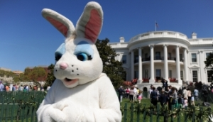 Easter, Easter eggs, Donald Trump, Excutive Orders, orange, politics, humor, Modern Philosopher