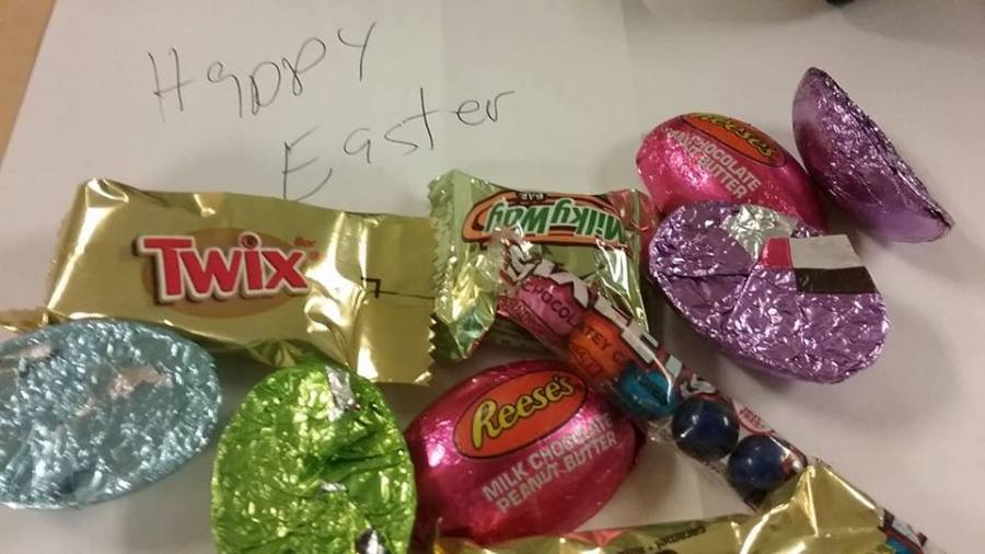 Monday, Easter candy, humor, Modern Philosopher