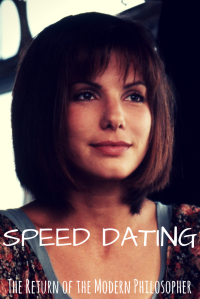 dating tips, speed dating, relationships, life hacks, advice, Speed, Sandra Bullock, humor, Modern Philosopher