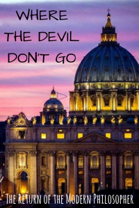 short story, The Devil, Pope Francis, Donald Trump, The Vatican, Sundays With Satan Short Story Series, humor, Modern Philosopher