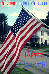 Fourth of July, Independence Day, Maine, parade, small town America, humor, Modern Philosopher