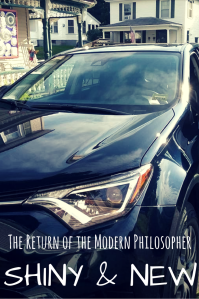 life, humor, change, new car, Modern Philosopher