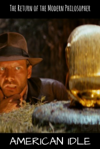 Indiana Jones, Raider of the Lost Ark, poetry, cars, humor, Modern Philosopher