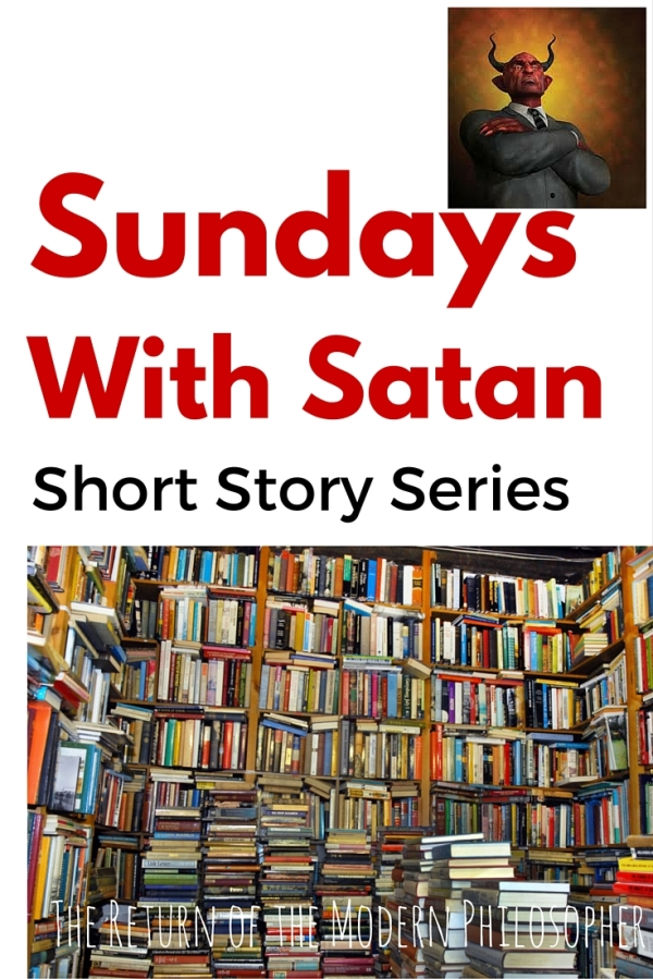 short story, The Devil, flash fiction, Sundays With Satan Short Story Series, buying a new car, humor, Modern Philosopher