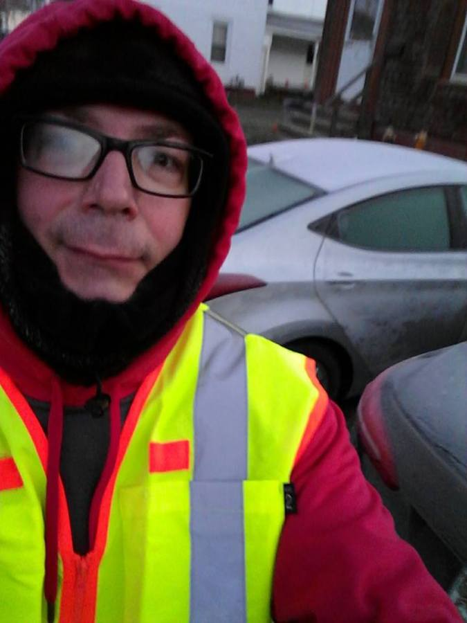 Maine, bitterly cold, winter, humor, Modern Philosopher