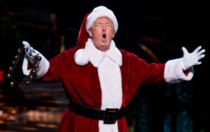 Christmas, Santa Claus, Donald Trump, satire, humor, Modern Philosopher