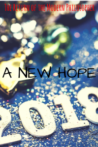 Happy New Year, New Year's Resolutions, philosophy, humor, Modern Philosopher