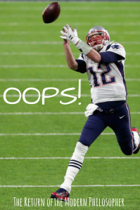 Tom Brady, Patriots, Eagles, Super Bowl, humor, Modern Philosopher