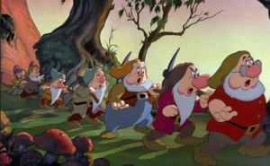 Heigh Ho, Seven Dwarfs, back to work, life, humor