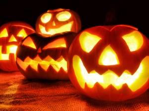 Halloween, Zombies, running, humor, Modern Philosopher