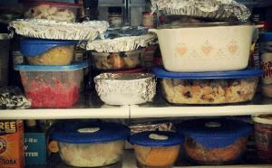 Thanksgving, leftovers, food, humor, Modern Philosopher