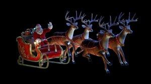 Christmas, Santa Claus, humor, Modern Philosopher
