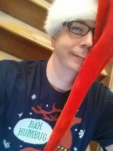 Christmas, fashion, humor, Modern Philosopher