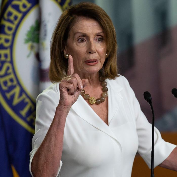 Nancy Pelosi, Trump, polar vortex, humor, politics, Modern Philosopher