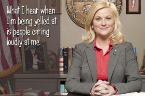 Leslie Knope, Parks and Recreation, television, humor, Modern Philosopher