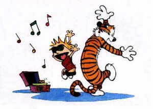 Calvin & Hobbes, dance, Friday, humor, Modern Philosopher