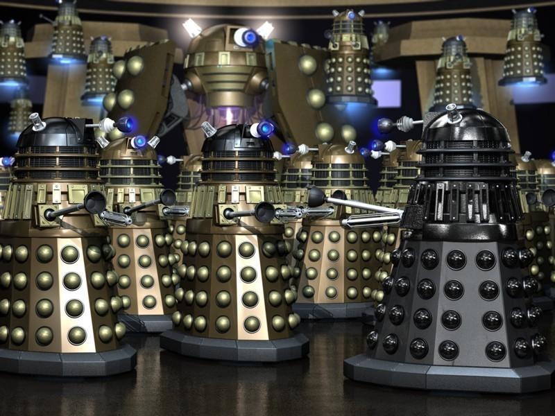 Daleks, Doctor Who, humor, Modern Philosopher