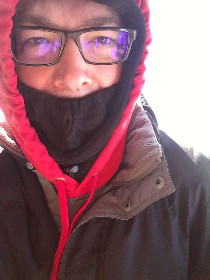 Maine, blizzard, ice storm, humor, Modern Philosopher