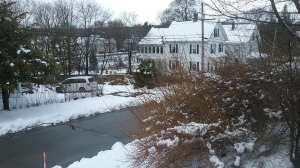 Maine, blizzard, Good Friday, humor, Modern Philosopher
