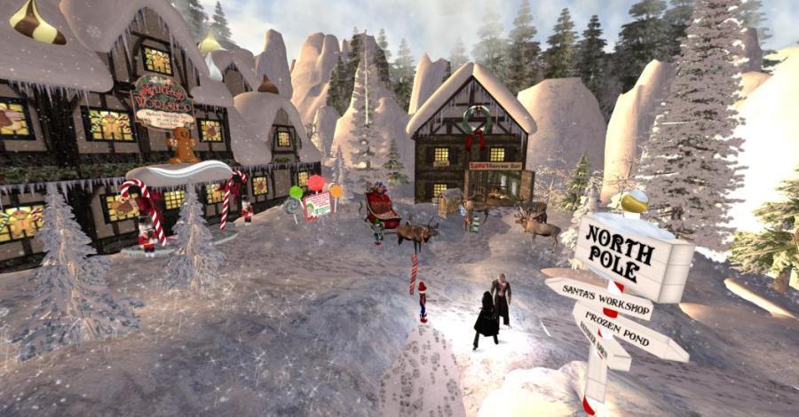 The North Pole, Christmas, humor, Modern Philosopher