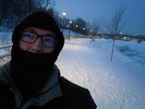 Maine, running, humor, Modern Philosopher